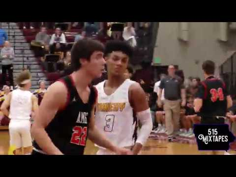 Ankeny Varsity Boys Basketball vs Ames IT WAS A BLOWOUT (highlights) 22-64