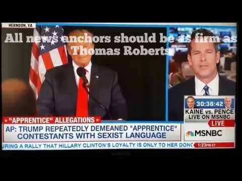 Thomas Roberts shuts down rambling Trump surrogate Sarah Huckabee