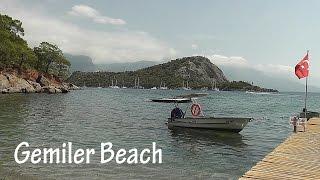 TURKEY Gemiler Beach, near St Nicholas Island  HD