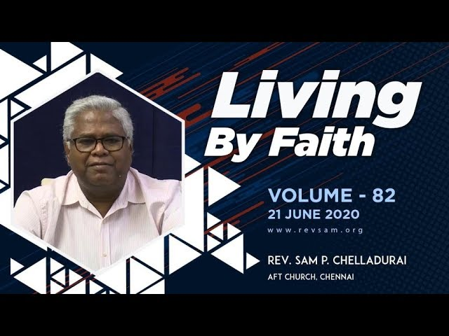 The Family of Faith | Rev. Sam P. Chelladurai | Sunday English Service | AFT Church