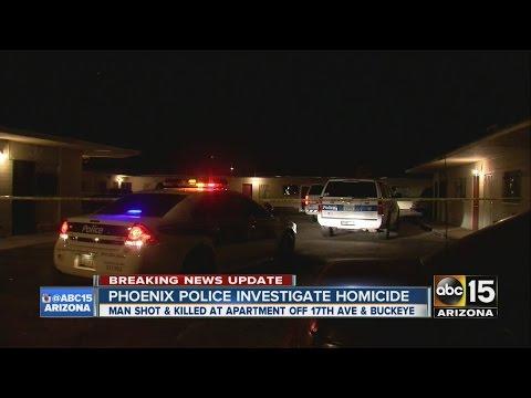Phoenix police investigate homicide
