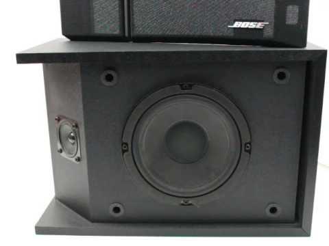 Bose 201 Series III Single Speaker 05 - YouTube