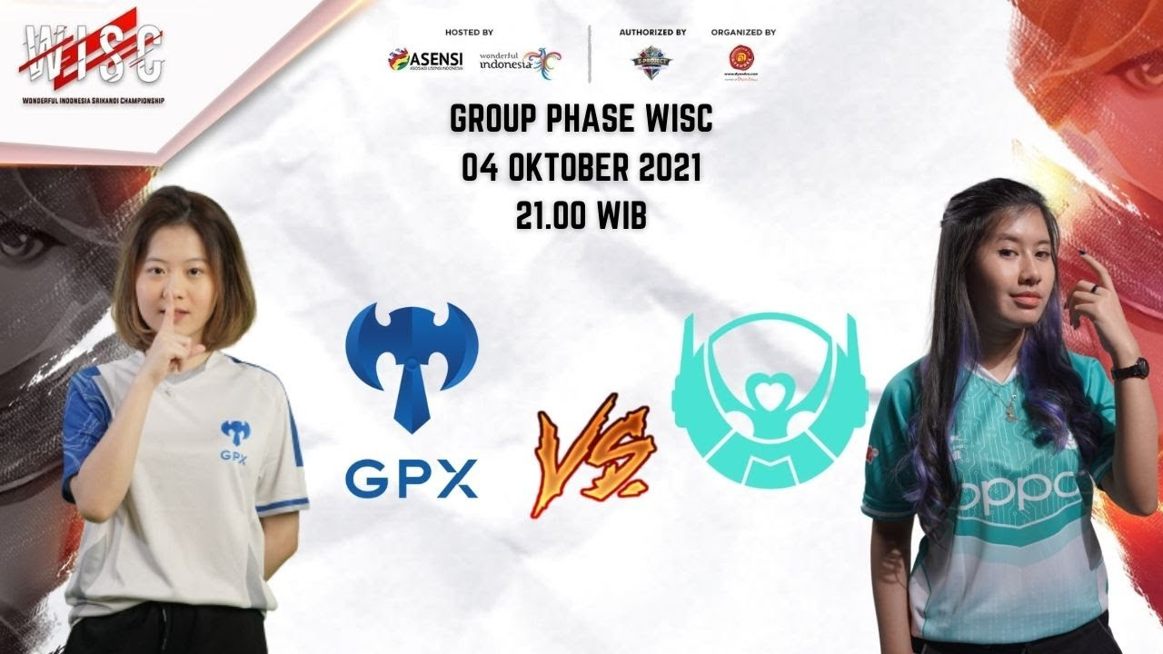Download WISC Group Phase Day 1 : GPX Ladies VS Belletron Era