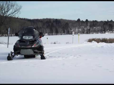 The Lakefront Inn & Motel in Island Pond, VT Winter Video