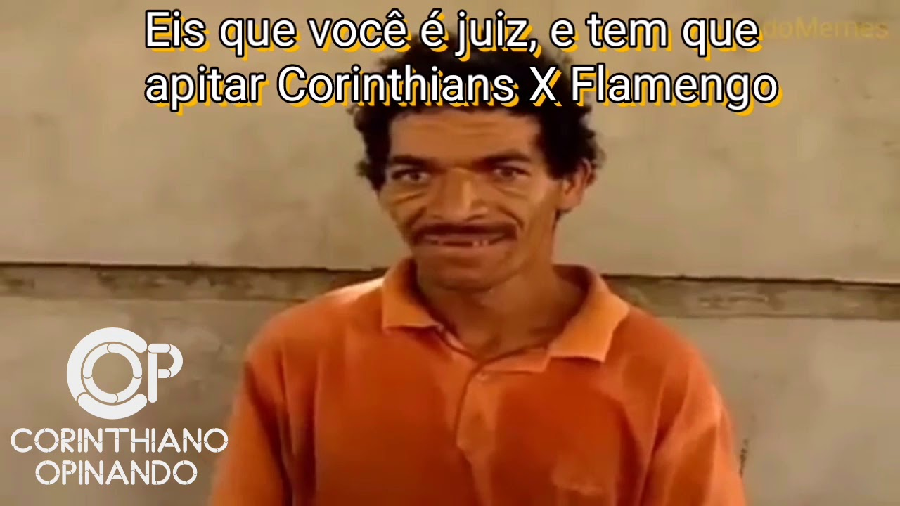 Meme Zueira Flamengo 1 X 0 Corinthians