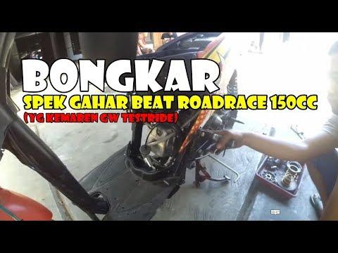 Bongkar Spek Beat Roadrace Gahar 150cc (yang kemaren gw testride wheelie)