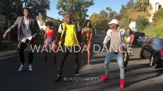 Wakanda Dance 🙅🏿♂️ #BlackPanther