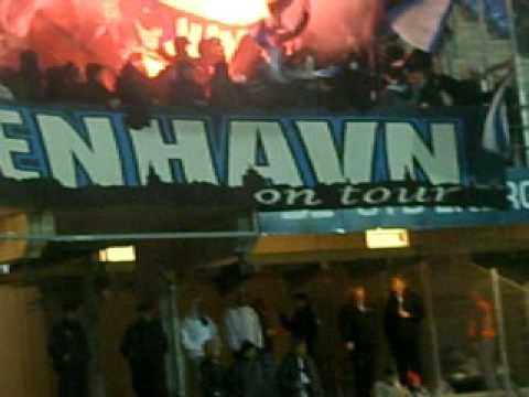 Fck Fans  FC KØBENHAVN  At Blue Water Arena Esbjerg