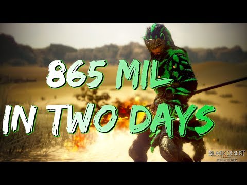 BDO - I Made 865 Mil in 2 Days