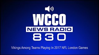 Vikings Among Teams Playing In 2017 NFL London Games (Audio)