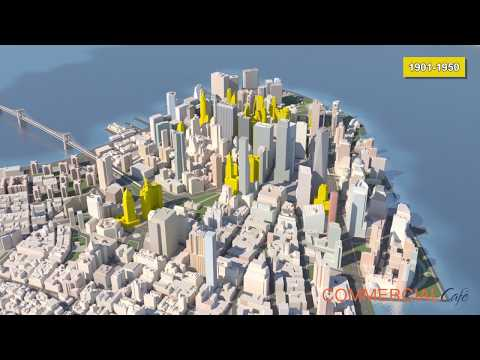Evolution of the Lower Manhattan Skyline