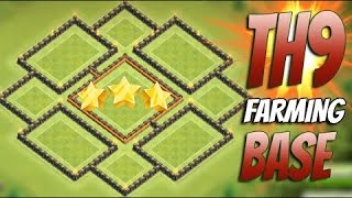 ● Clash Of Clans ● Town Hall Level 9 ● Farming Base ●