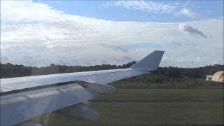 Air France A340 Décollage / Take-Off from Cayenne (CAY/SOCA)