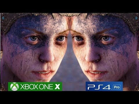 Hellblade Xbox One X Patch Is Impressive, Xbox One X Vs PS4 Pro Comparison [4K/60fps]