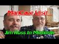 ManCave Visit -Jim Ross In Michigan