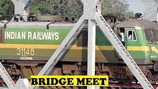 WAG9 WDG3A Freight Krishna Bridge