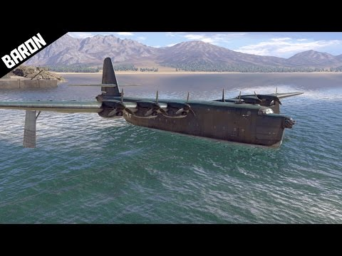 BV-238 SECRET MISSION, Crossing the English Channel - War Thunder Gameplay