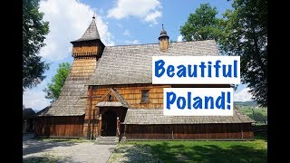 Our first impressions of POLAND - stunning!