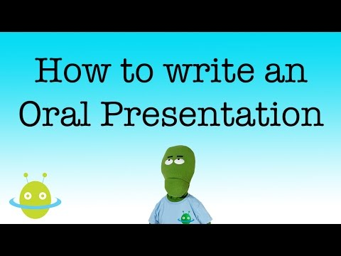 writing an oral presentation Oral presentation exercises and assignments for first year writing courses after a short break, have the groups switch roles have the students take turns presenting a brief.