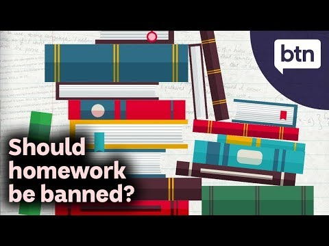 Should Homework Be Banned? - Behind the News