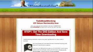 Ted Woodworking Projects - Hundreds Of Woodworking Plans To Choose