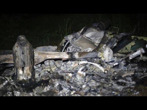 Criminals suspected in helicopter crash