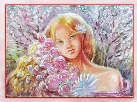 Картинки девицы весны