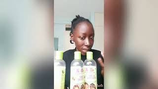 Knock knock?Who's there| Natural hair products