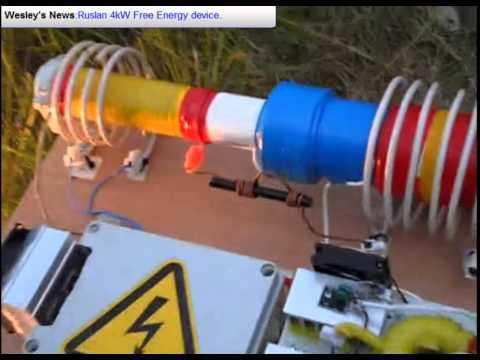 Ruslan video#2 Free Energy 4kW generator.