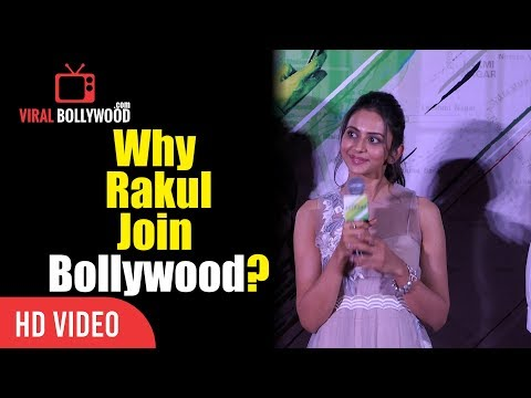 Why Did Rakul Preet Singh Join Bollywood? | Truthful Reply | Aiyaary Trailer