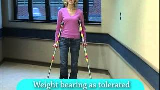 How to use canes, crutches and walkers after surgery