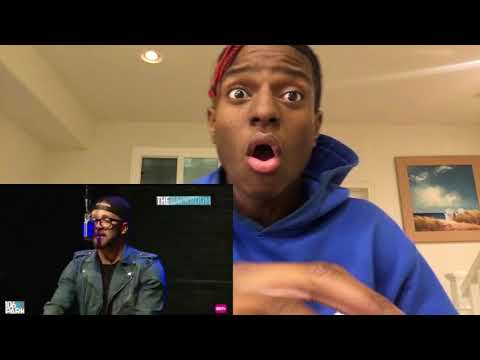 Andy Mineo 106 & Park Freestyle  | Reaction