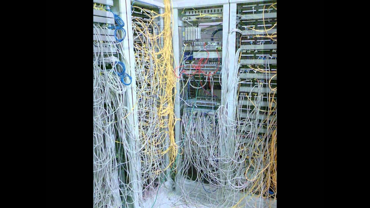 Home Wiring Closet Real World Server Room Nightmares Youtube