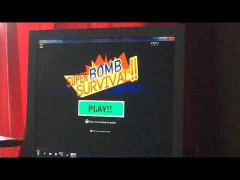 Bombs flying everywhere