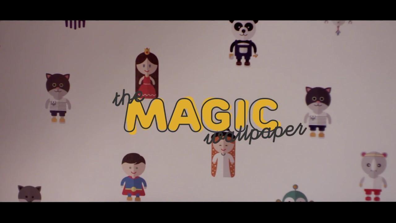 the magic wallpaper castorama youtube