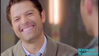 Misha Collins Funny Bloopers VS Real Life