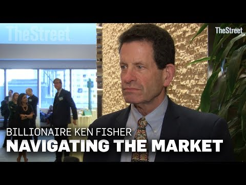 Billionaire Investor Ken Fisher on How to Navigate the Stock Market Selloff