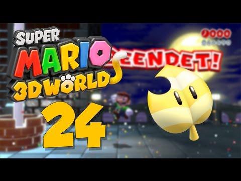 Let's Play Super Mario 3D World Part 24: Ich kriege gleich einen Anfall und der Mega Fail