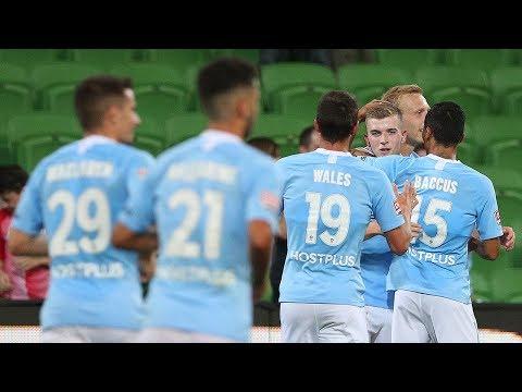 Hyundai A-League 2018/19 Round 24: Melbourne City FC 4 - 1 Brisbane Roar