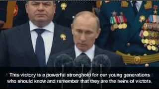 Putin Speech: Russia rejects Obama and the British Empire 5/9/2012