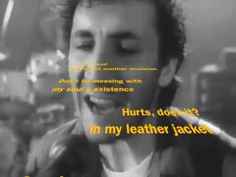 my whole existence hurts, you zit (The Who - Another Tricky Day - reversed with subtitles)