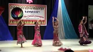 Mere ghagre...performed by Mahita, Jania, Zaina, and Srija