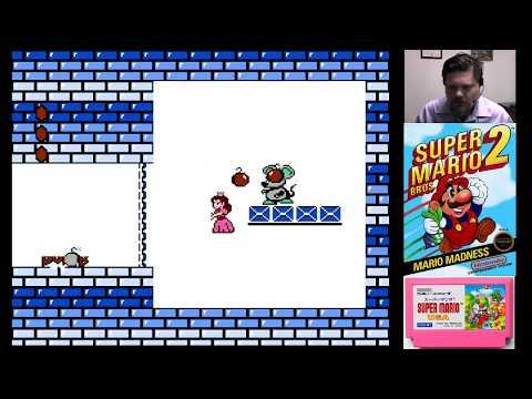 Super Mario Bros. 2 - part 2| VGHI Play 'n' Chat Live Stream