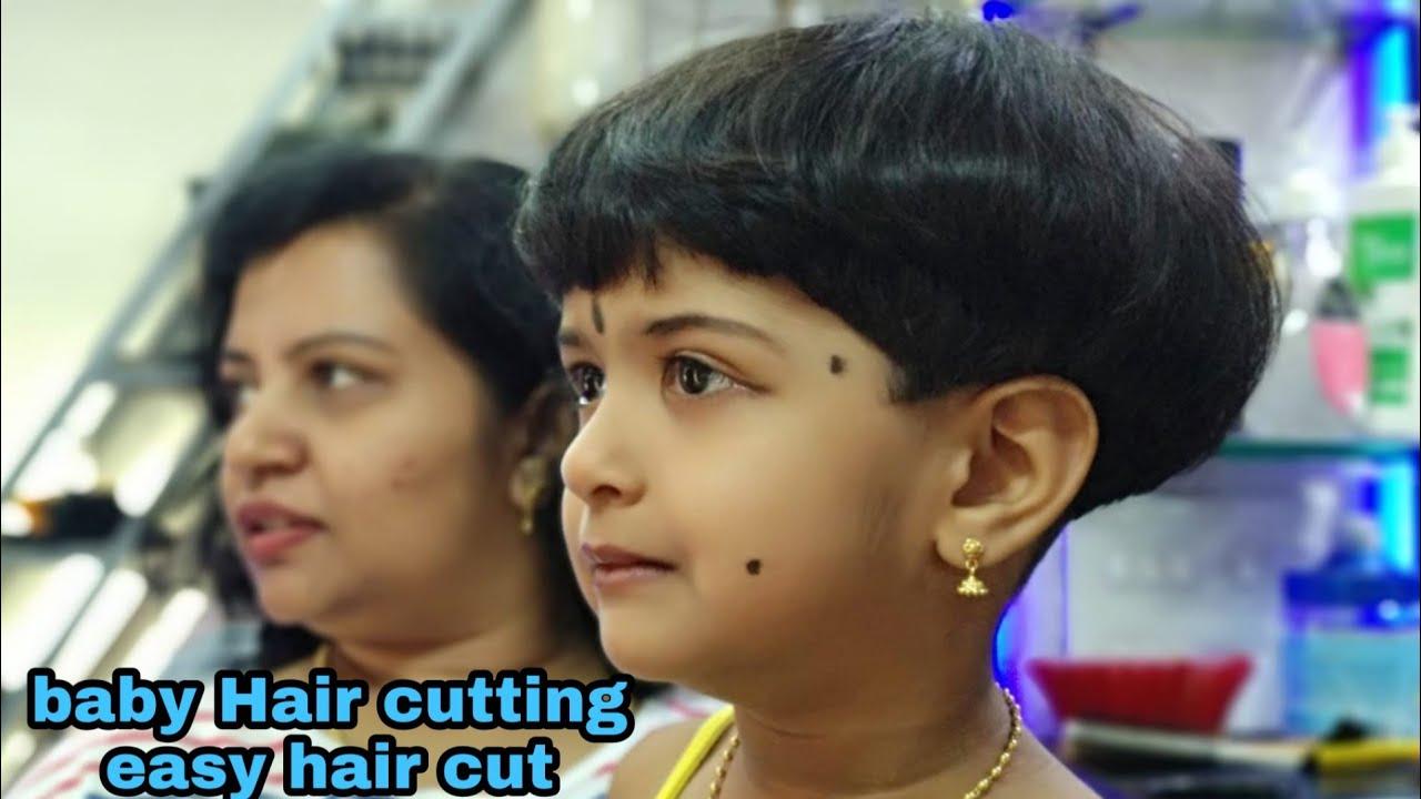 Baby Hair cutting ✂️👰