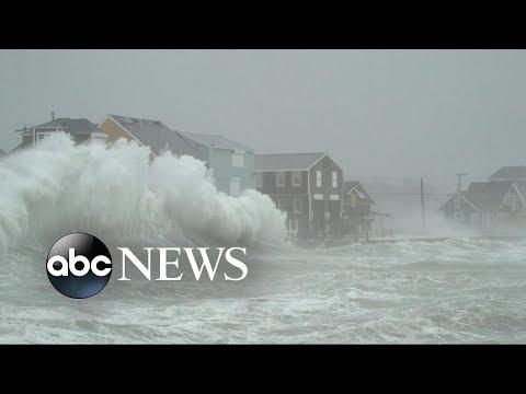 Massive 'bomb cyclone' pounds Northeast