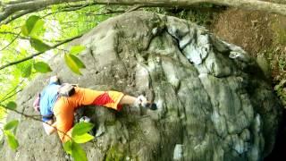 クールダウンに登ったときの動画。昔はなかなか登れず、思い出深い課題。
