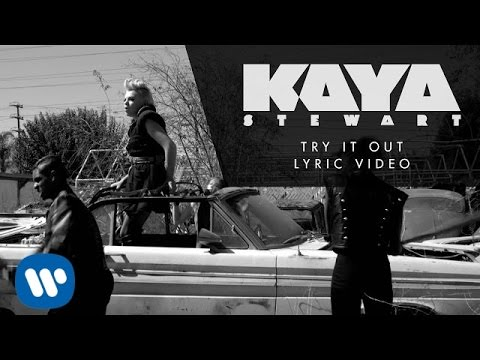 Kaya Stewart - Try It Out (Official Lyric Video)