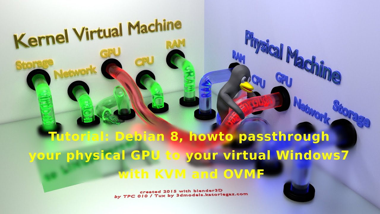 Tutorial: Debian 8, howto passthrough your GPU GTX 780 to your virtual  Windows7 with KVM and OVMF