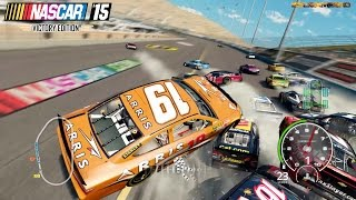 NASCAR '15 Victory Edition Best (Extreme) Longer Crash Compilation 11