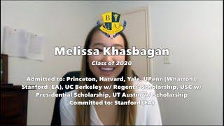 Melissa Khasbagan Testimonial